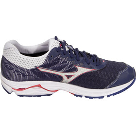 Mizuno Wave Rider 21 G-TX Shoes Women Eclipse/Silver/Paradise Pink